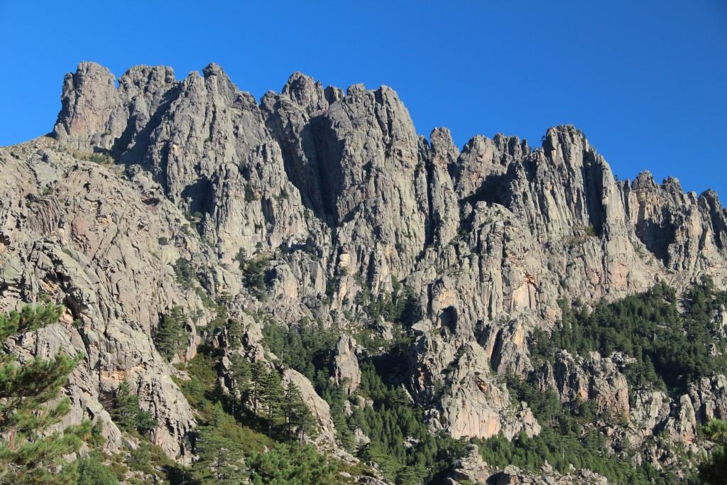 Plateau Du Coscione Via Les Aiguilles De Bavella
