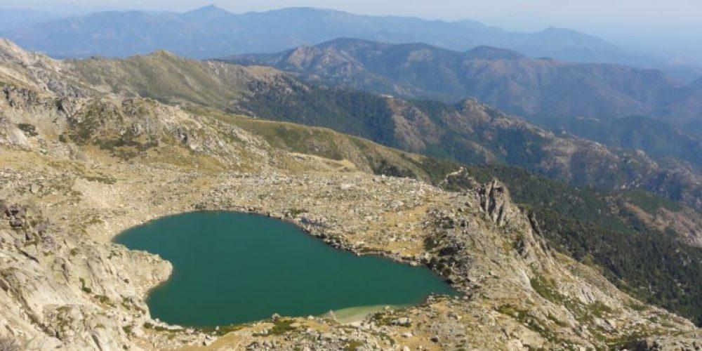 Lac de Bastani et Monte Renosu